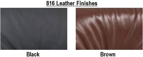 816 Leather Finishes