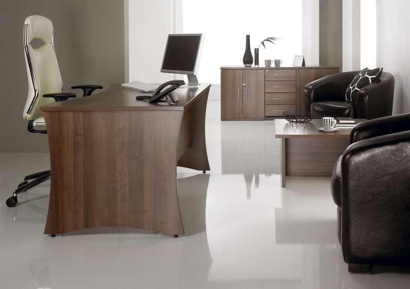 Portofino Panel End Desk