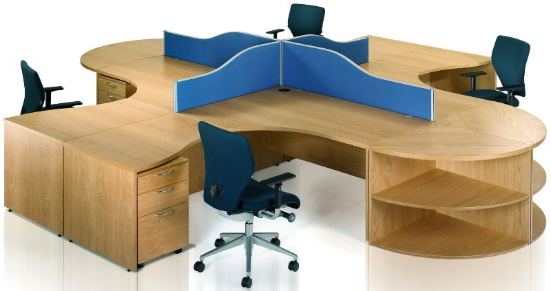 Abbey Executive Slab End Workstation