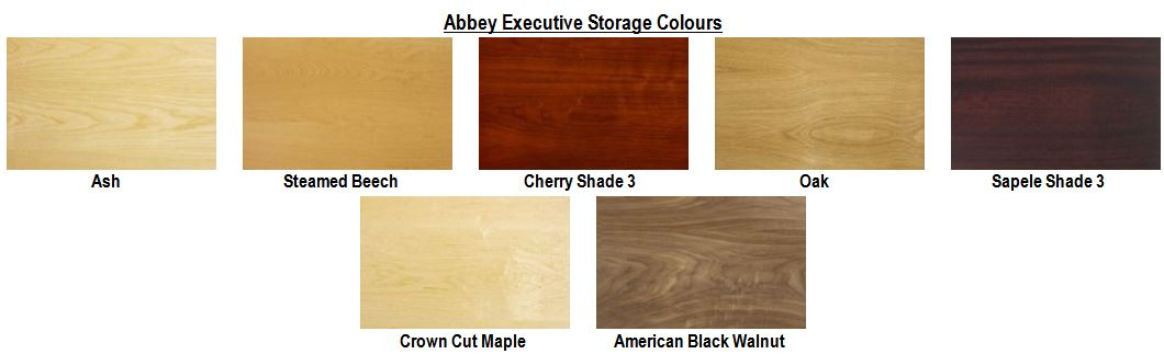 Abbey Executive Storage Colours