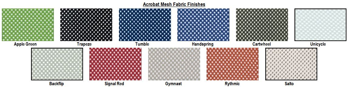 Acrobat Mesh Fabric Finish