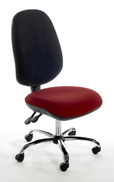 Deluxe High Back Operators Chair