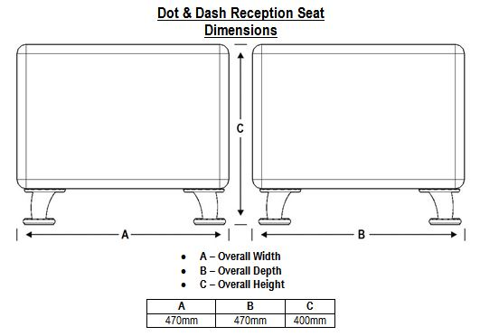Dot & Dash Dimensions