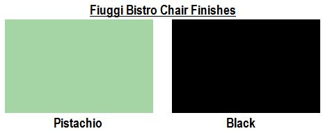 Fiuggi Bistro Chair Finishes