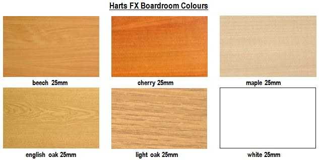 Harts FX Boardroom Colours