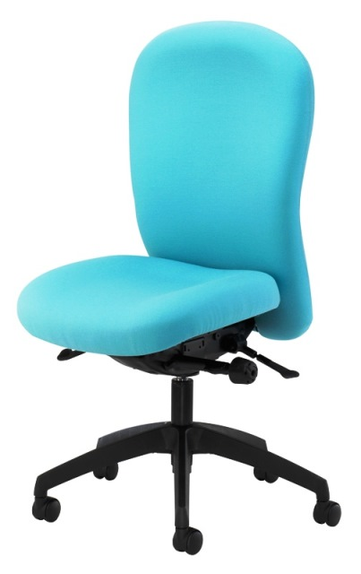Posturemax Chair with Black Base & No Arms