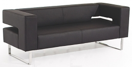 PSVI1 Leather Faced Reception Seat