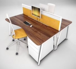 Escalate A-frame Leg Desk