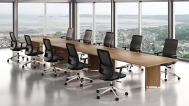 SALE Boardroom Tables Arrowhead Base