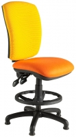 Harts Deluxe Square Back Draftsman Chair