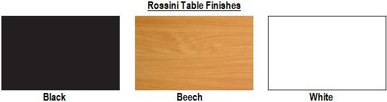 Rossini Table Finishes