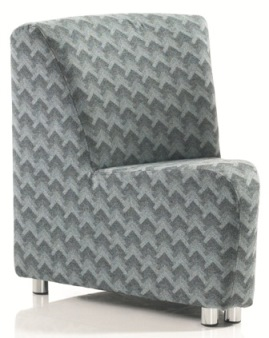 Stella 45° Angled Chair Unit