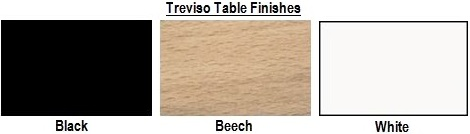 Treviso Bistro Table Finishes