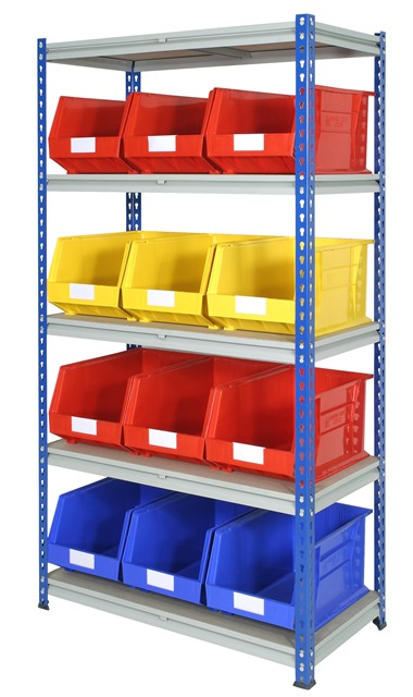 Z Rivet Single Bay withTrays